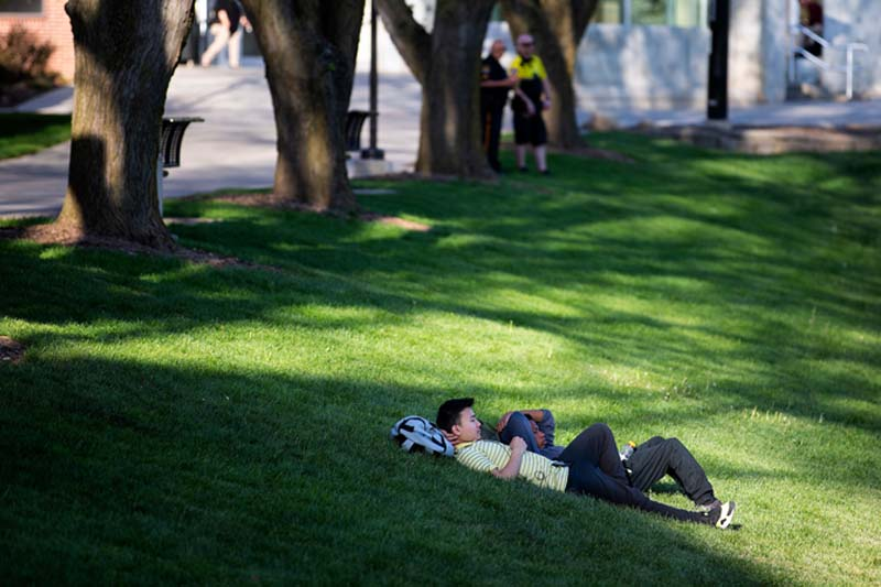 Beat the Heat: A Reminder of Campus Resources