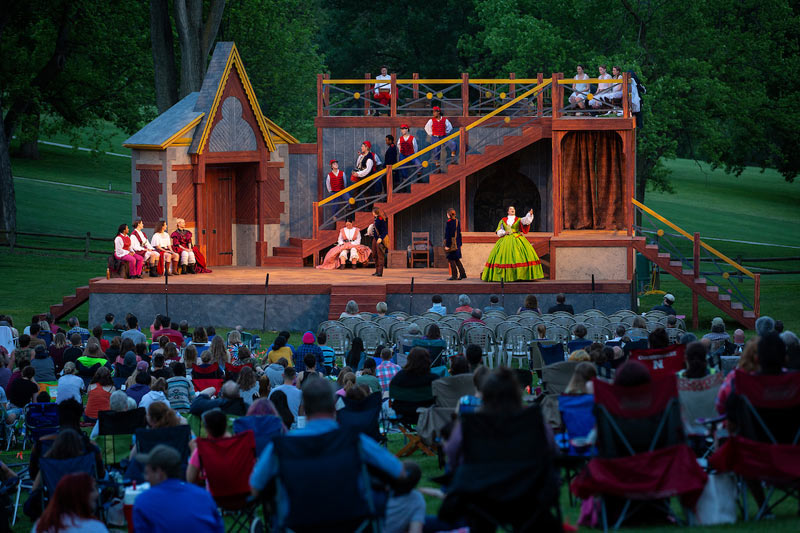 Shakespeare on the Green performance