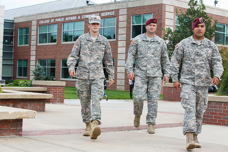 Recognition Top 10 four-year institution for military friendliness