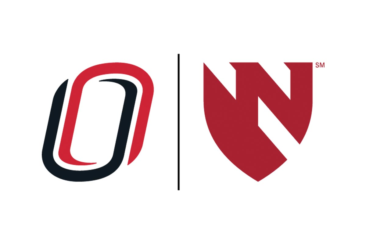 UNO and UNMC logos