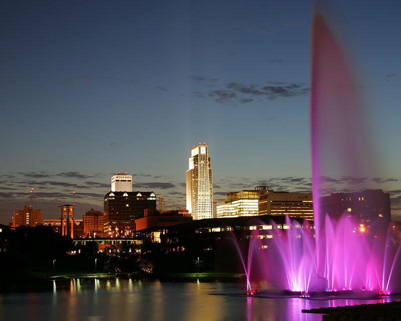 heartland of america park fountains