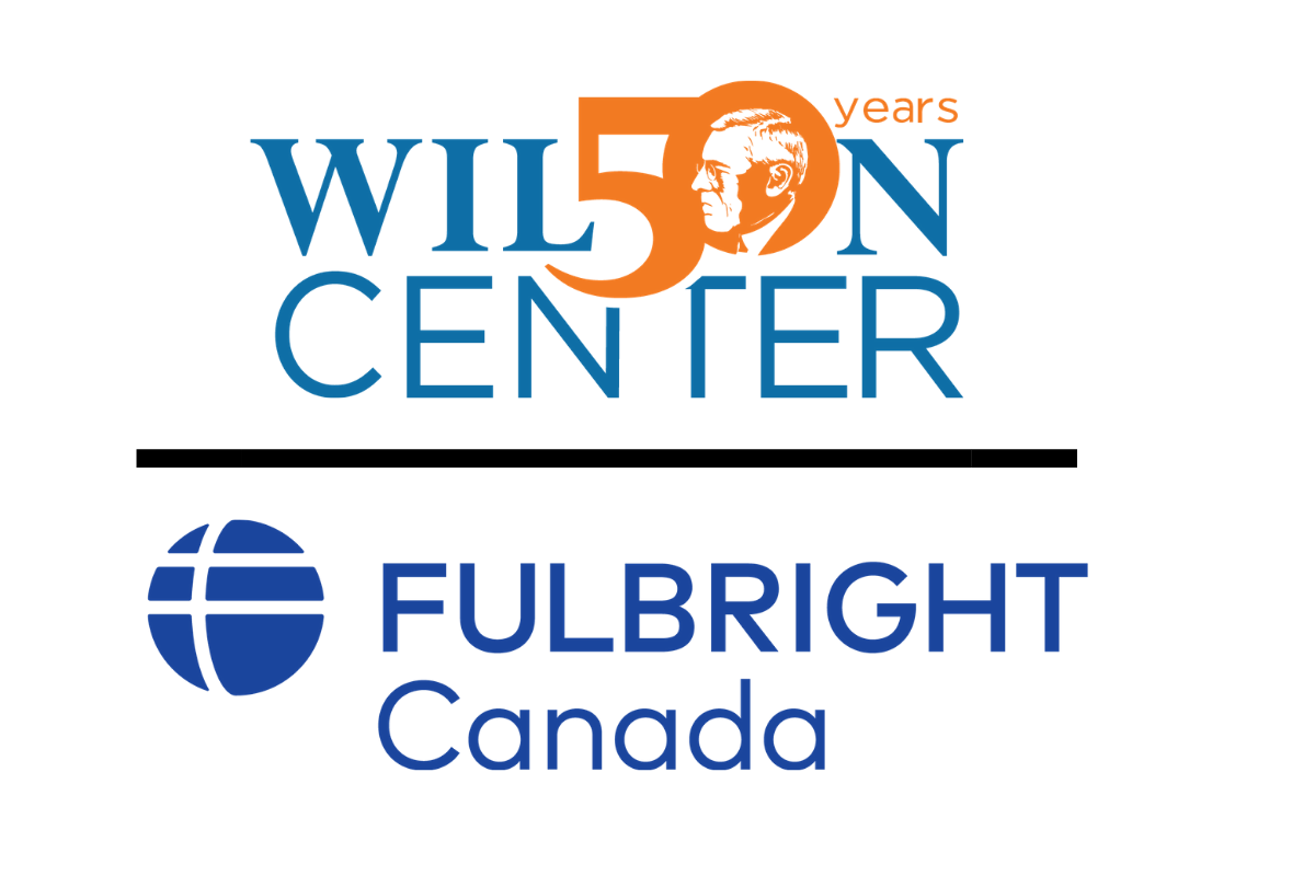 Graphic of logos for the Wilson Center and Fulbright Canada