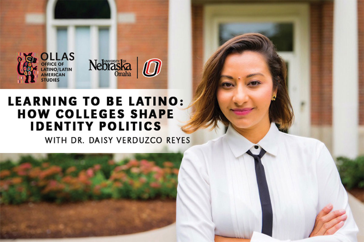Thumbnail for UNO/OLLAS Charla: Learning to be Latino: How Colleges Shape Identity Politics
