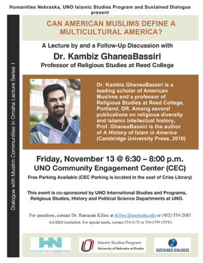 Dialogue with Muslim Communities in Omaha | Islamic Studies