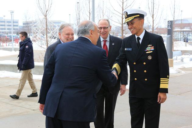 U.S. Navy Adm. Cecil D. Haney