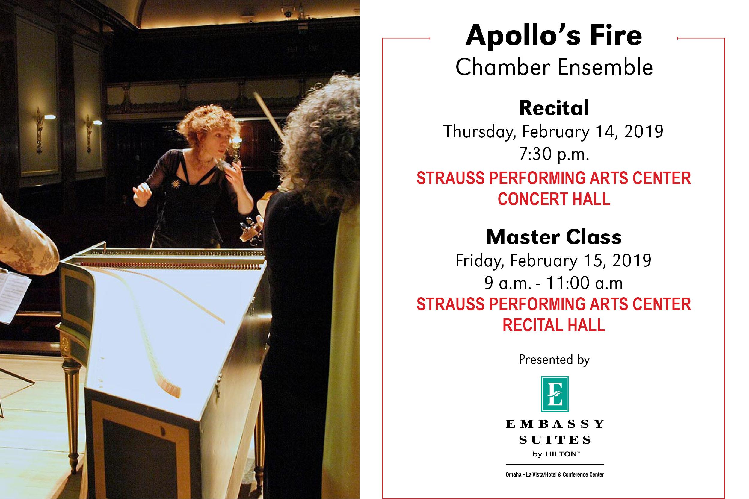 Apollo S Fire Chamber Ensemble School Of Music University Of