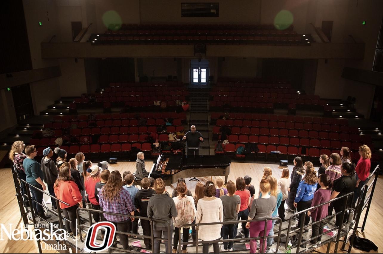 Choirs   School of Music   University of Nebraska Omaha