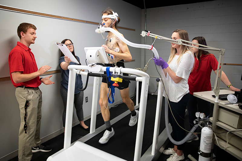 Inside the Exercise Physiology Lab