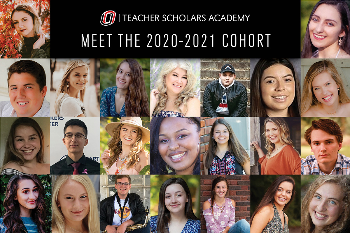Montage of the second cohort of the Teacher Scholars Academy