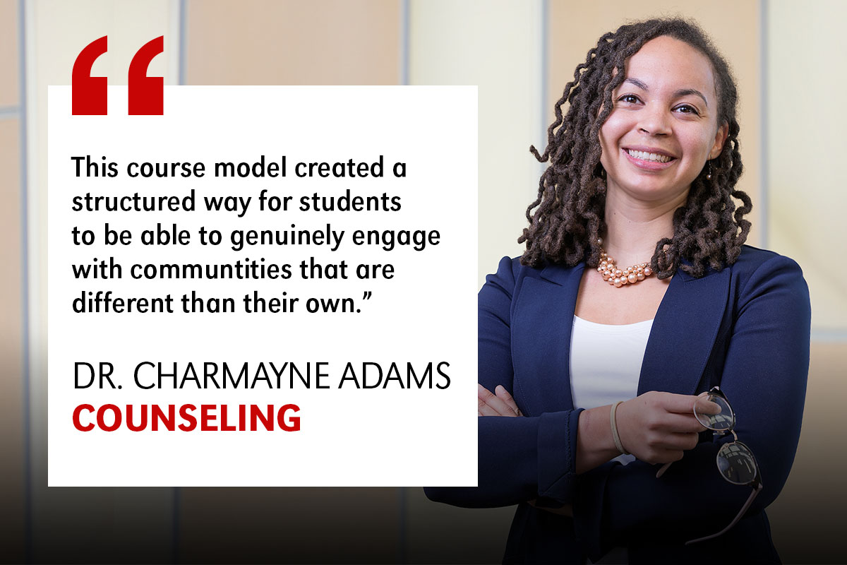 Dr. Charmayne Adams Quote
