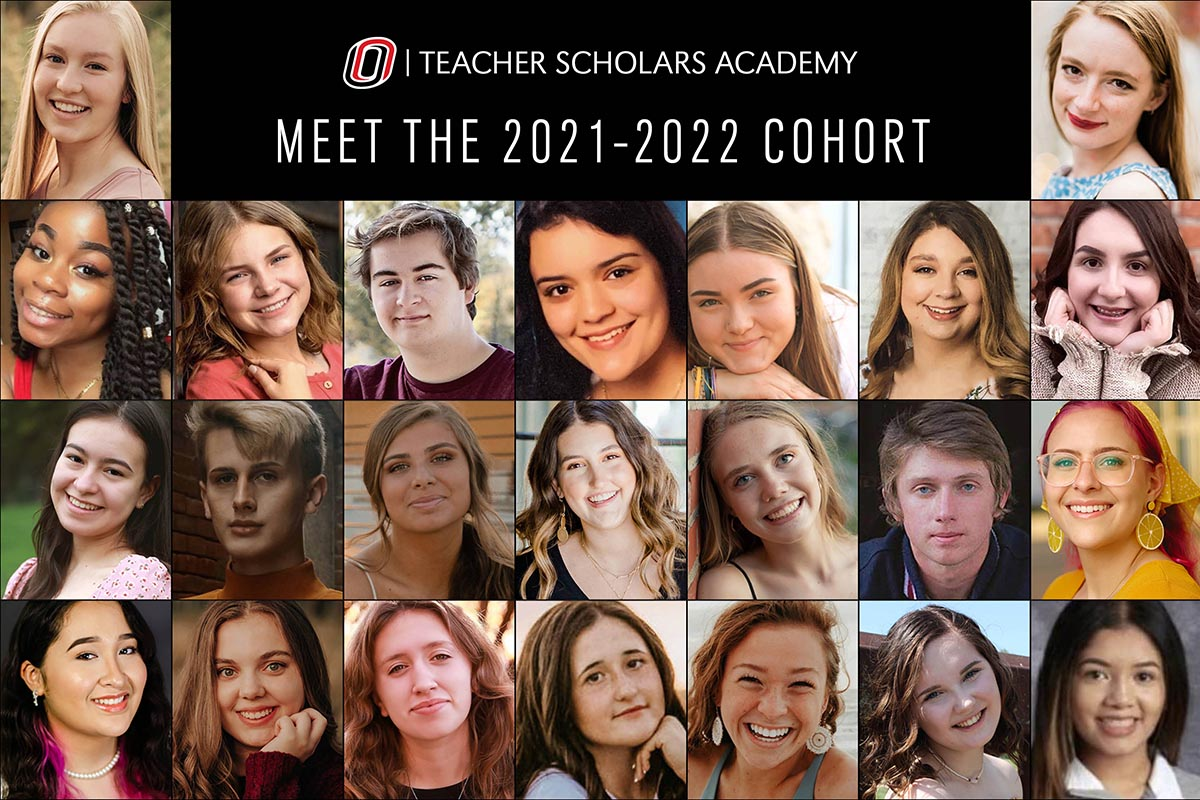 Montage of the third cohort of the Teacher Scholars Academy