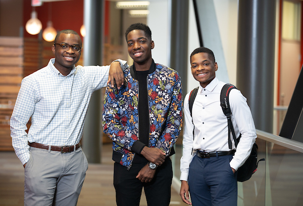 From the Ivory Coast, Three Brothers Find a Home at UNO