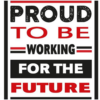 Proud to be Working for the Future