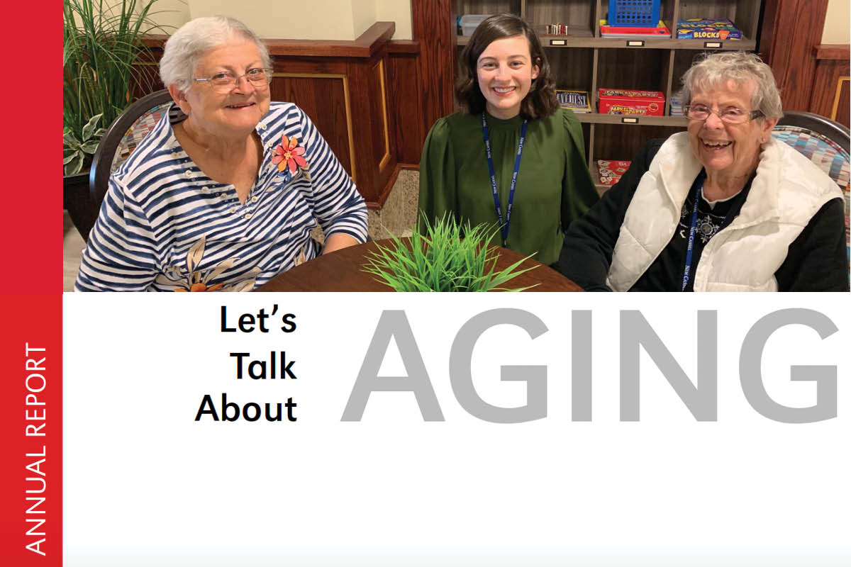 Cover of Gerontology Annual Report