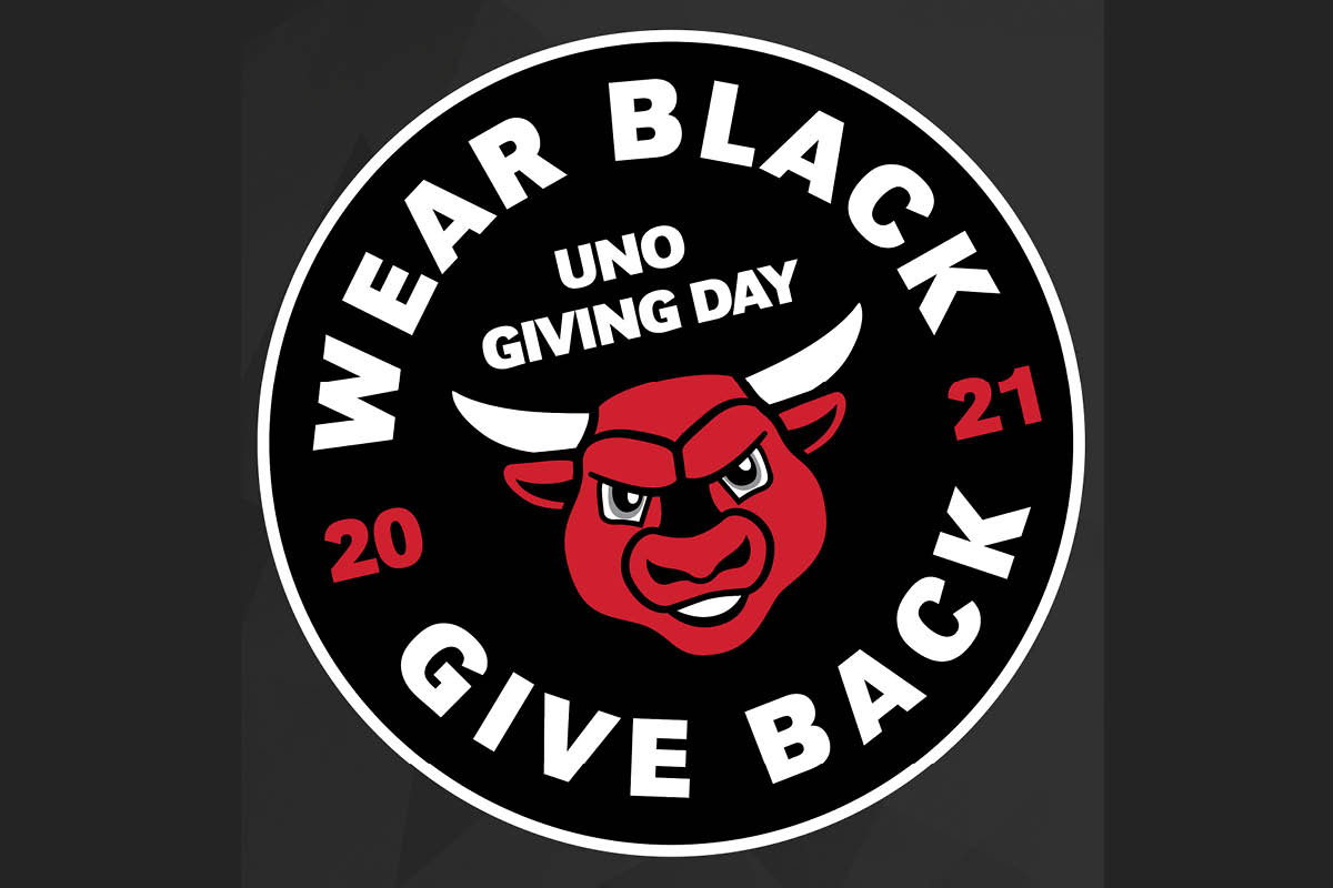 wear black, give back graphic 2021