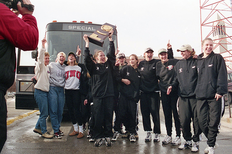 b1fb21ce5 In December 1996, the UNO Mavericks volleyball team won the NCAA Division  II National Championship.