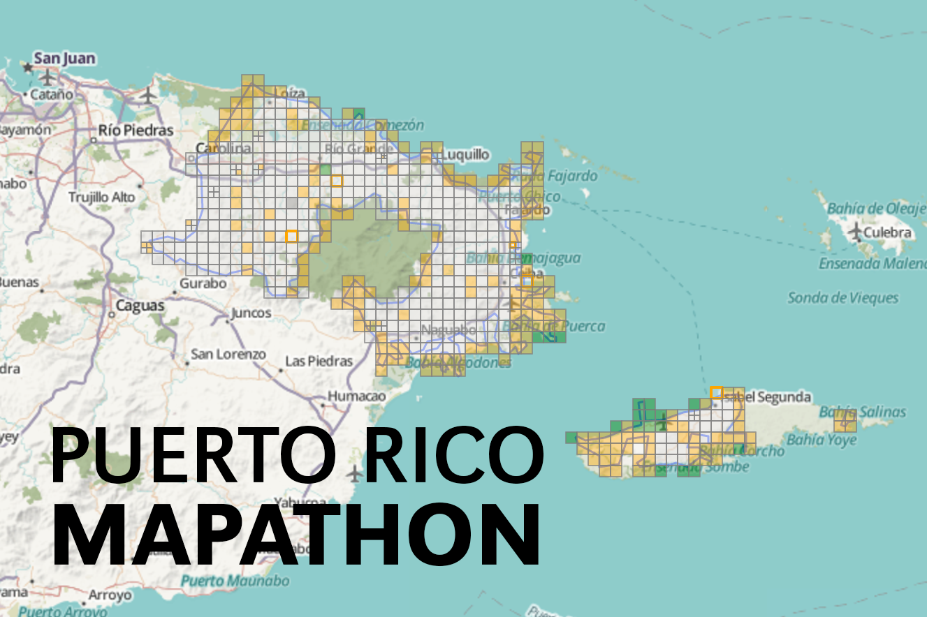 Puerto Rico Hurricane Relief Mapathon Dr CC And Mabel L - Political map of puerto rico