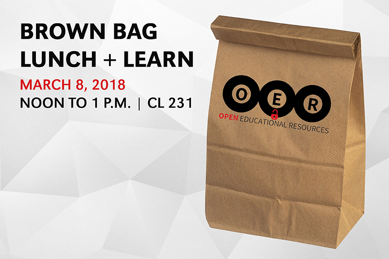 Thumbnail for OER Brown Bag Lunch and Learn