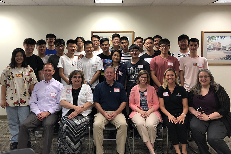 UNO Welcomes Chinese Students for Dual Degree Program