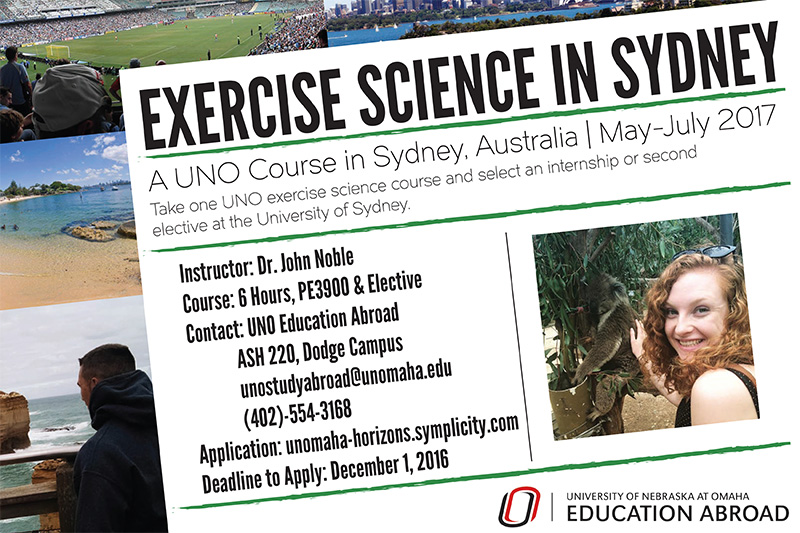 Kinesiology And Exercise Science usyd international studies