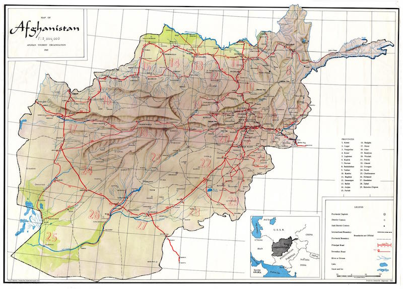 Geography and Geology | Center for Afghanistan Studies | University ...