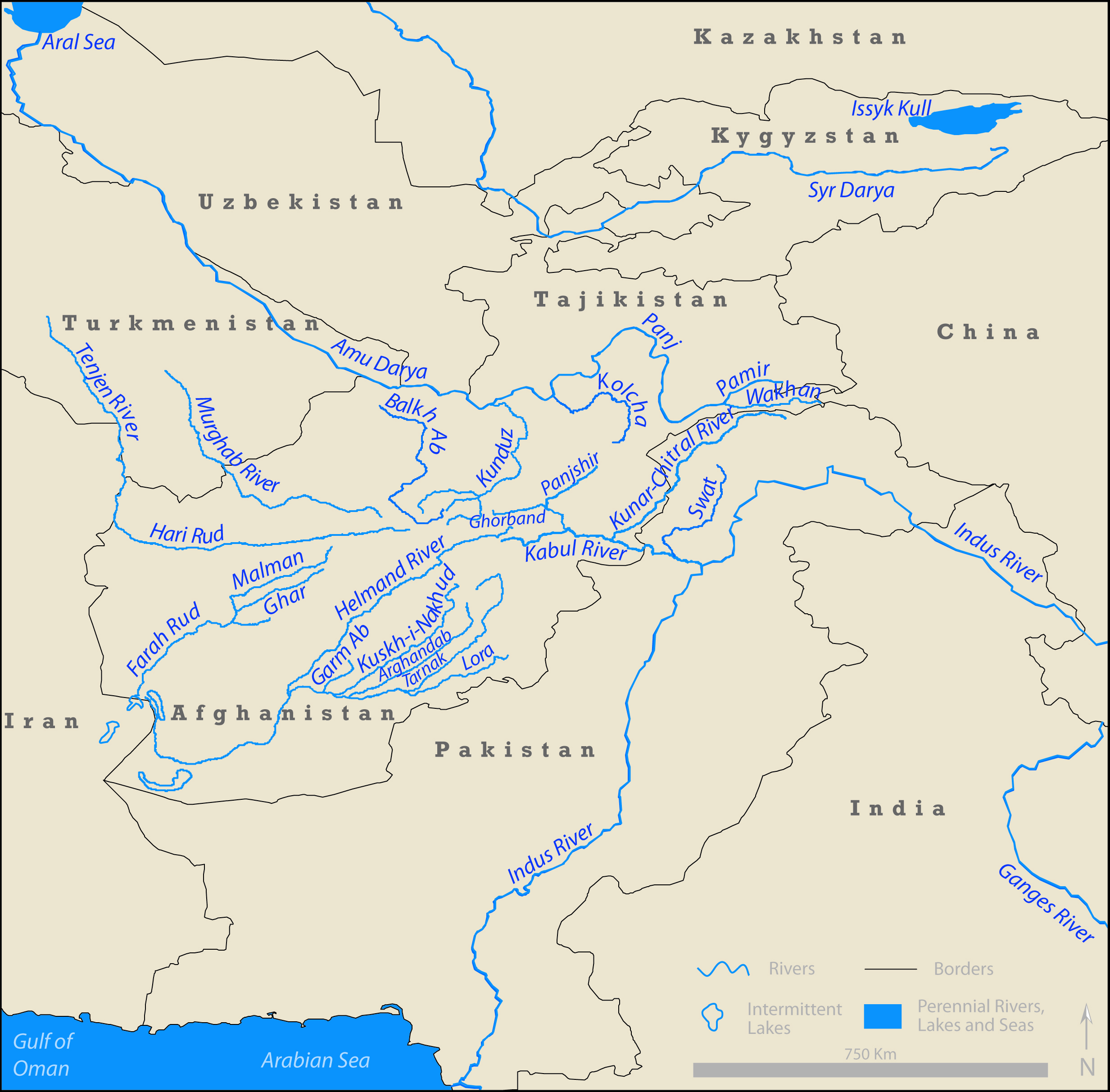 Center For Afghanistan Studies University Of Nebraska Omaha - Most important rivers in the world