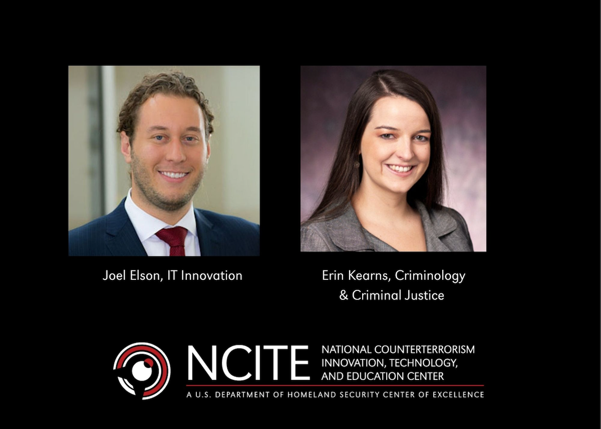 Photo of NCITE researchers Joel Elson and Erin Kearns
