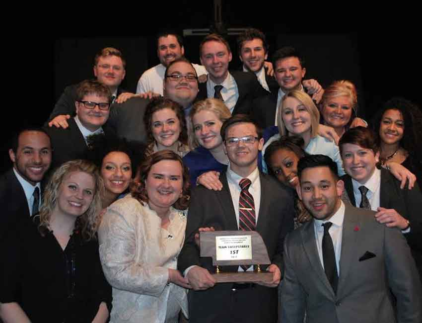 UNO Speech Team Hosts Showcase