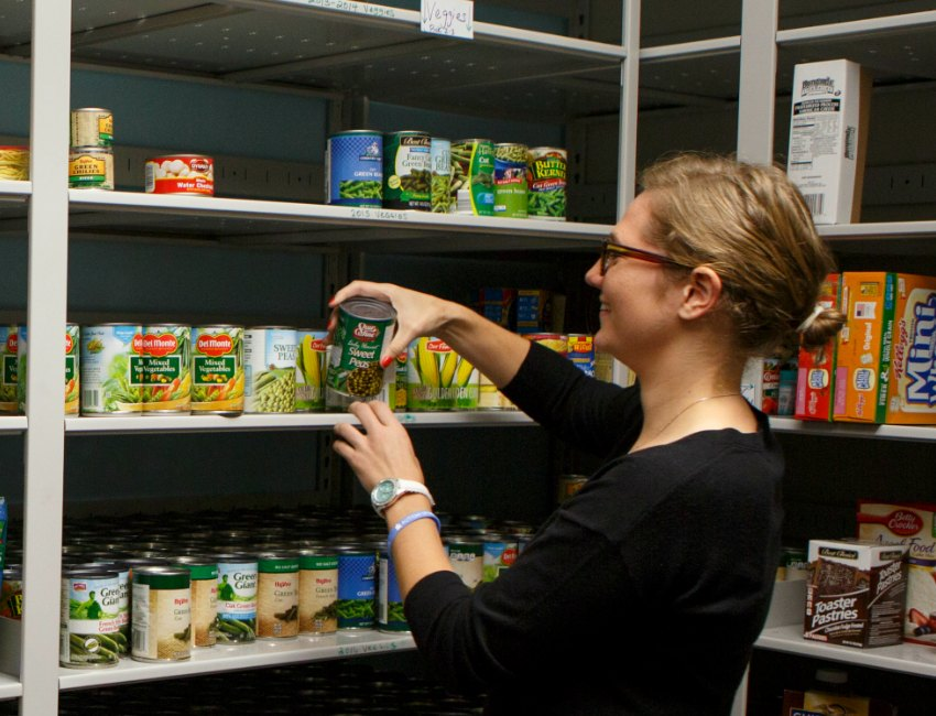 Omaha Gives!: The Maverick Food Pantry