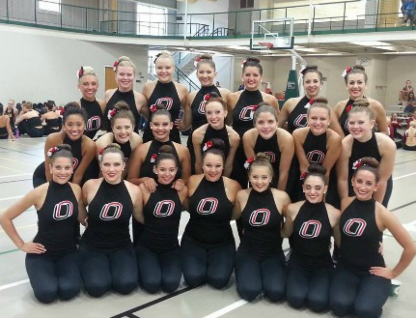 UNO Dance Team Earns No. 3 National Ranking