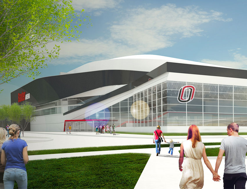 Welcome to Baxter Arena