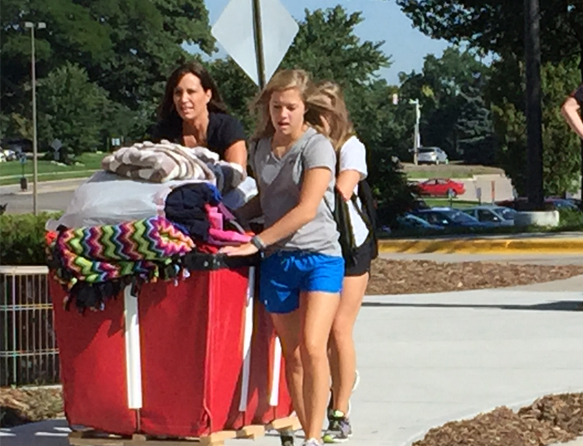 Mild Weather Helps With Move-In Mania