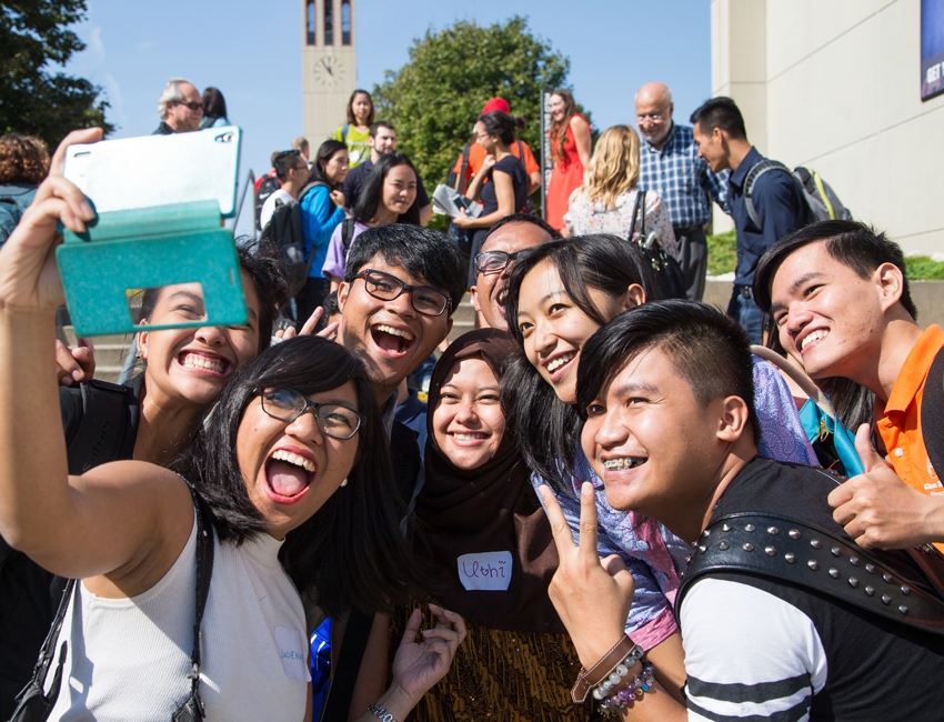 Civic Engagement Grant Brings Southeast Asian Students to UNO