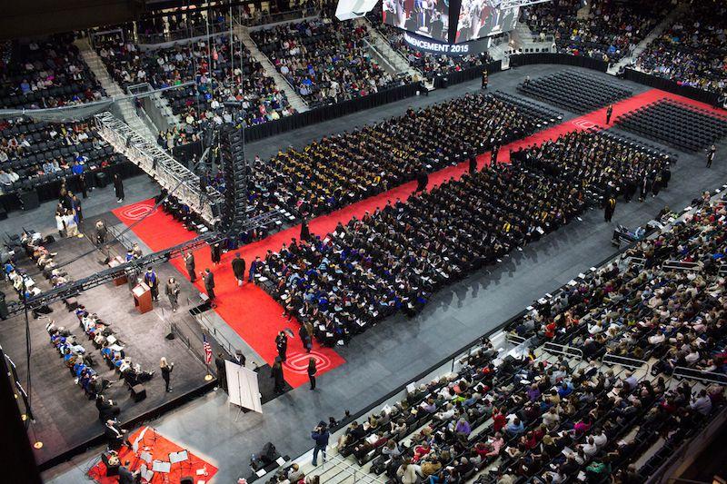 Uno Holds First Graduation At Baxter News University