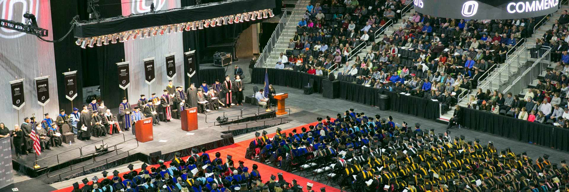 Commencement at Baxter Arena | May 6