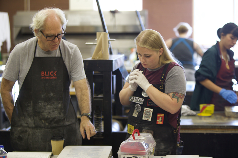 Frogman's Print Workshop Makes Jump to UNO