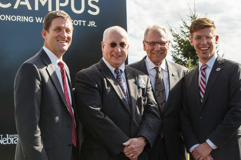 Uno Names Campus For Omaha Philanthropist News University Of Nebraska Omaha