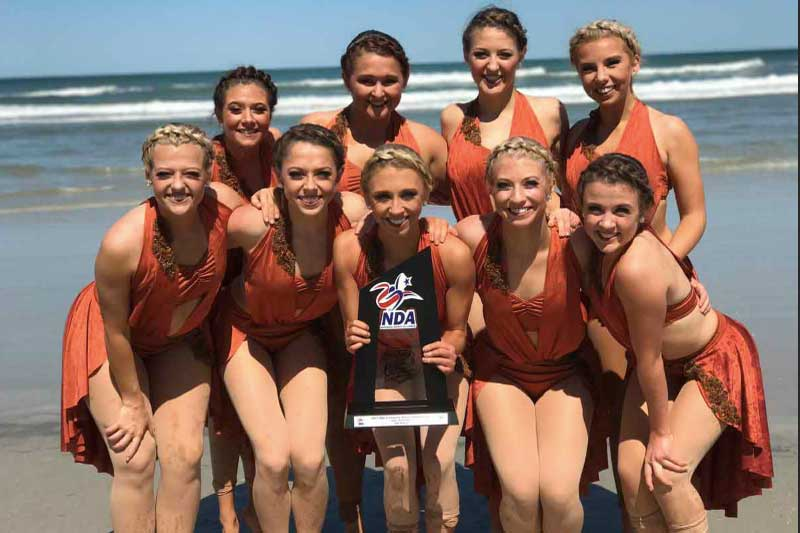 Uno Dance Team Finishes Sixth At Nationals News University Of