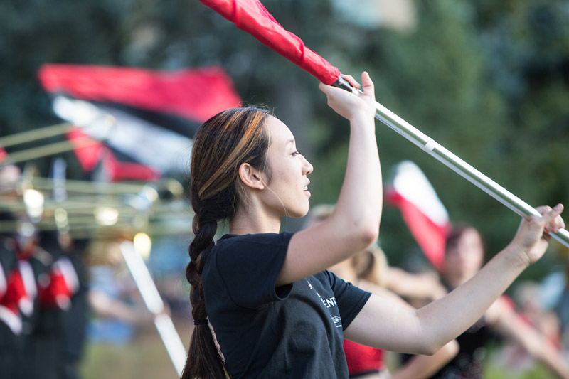 Join the Maverick Marching Band Color Guard | News