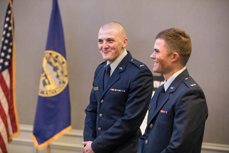 Local Students Officially Commissioned As Air Force Officers