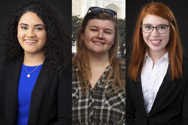Trio of UNO Students Selected as Fulbright Recipients