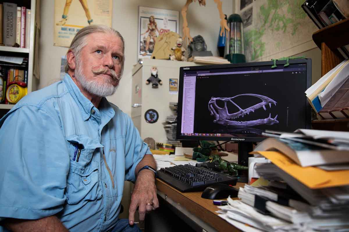 UNO Professor Discovers Prehistoric Species