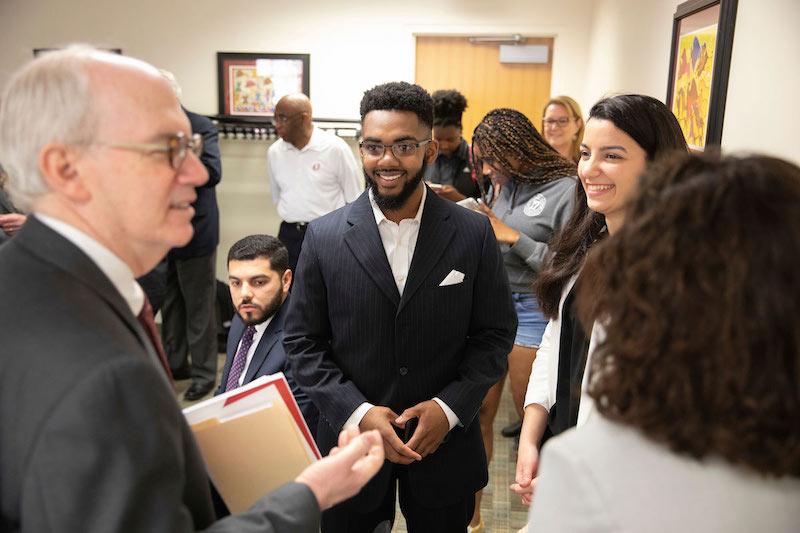 2019 2020 Student Body President Regent Vice President Sworn In News University Of Nebraska Omaha