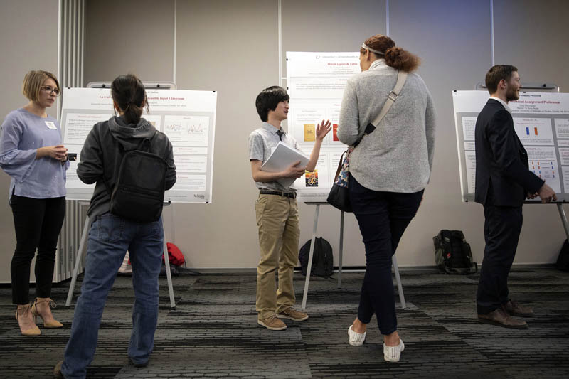 Students, Projects Shine at Honors Symposium