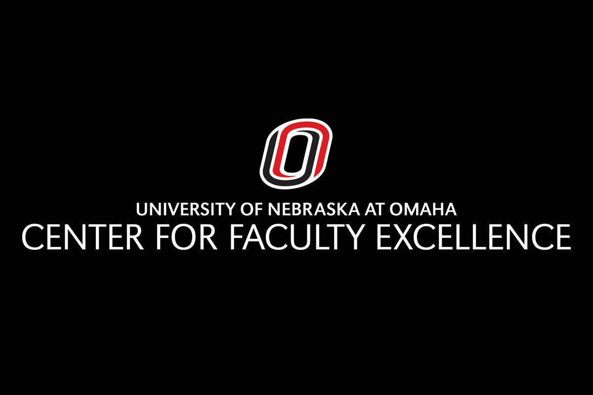 Center for Faculty Excellence typesetting