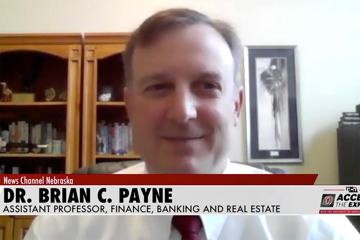 A screen shot of Brian C. Payne on Access the Experts