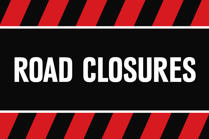 Homecoming Parade Closures