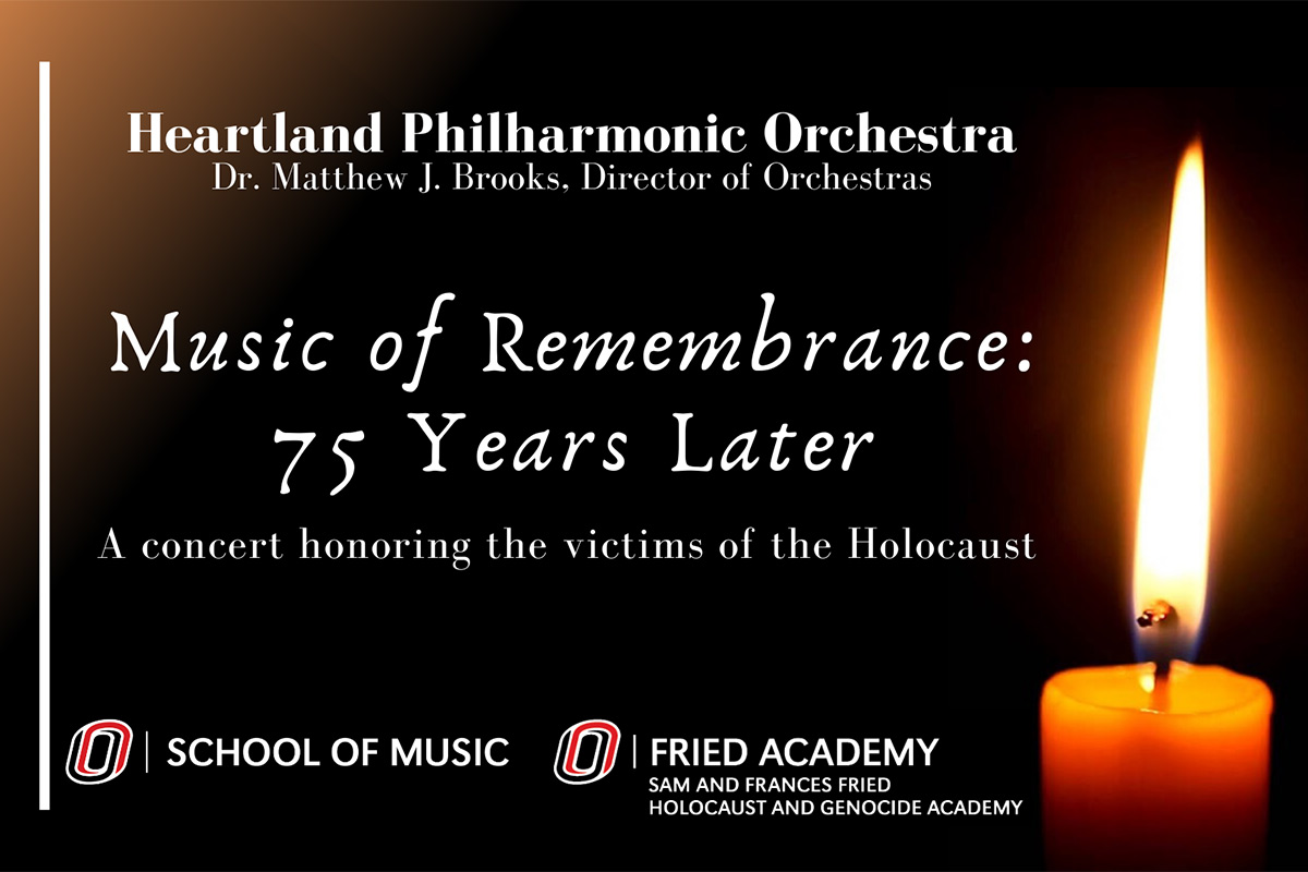 Thumbnail for UNO Orchestras Dedicate Concert to Holocaust Victims