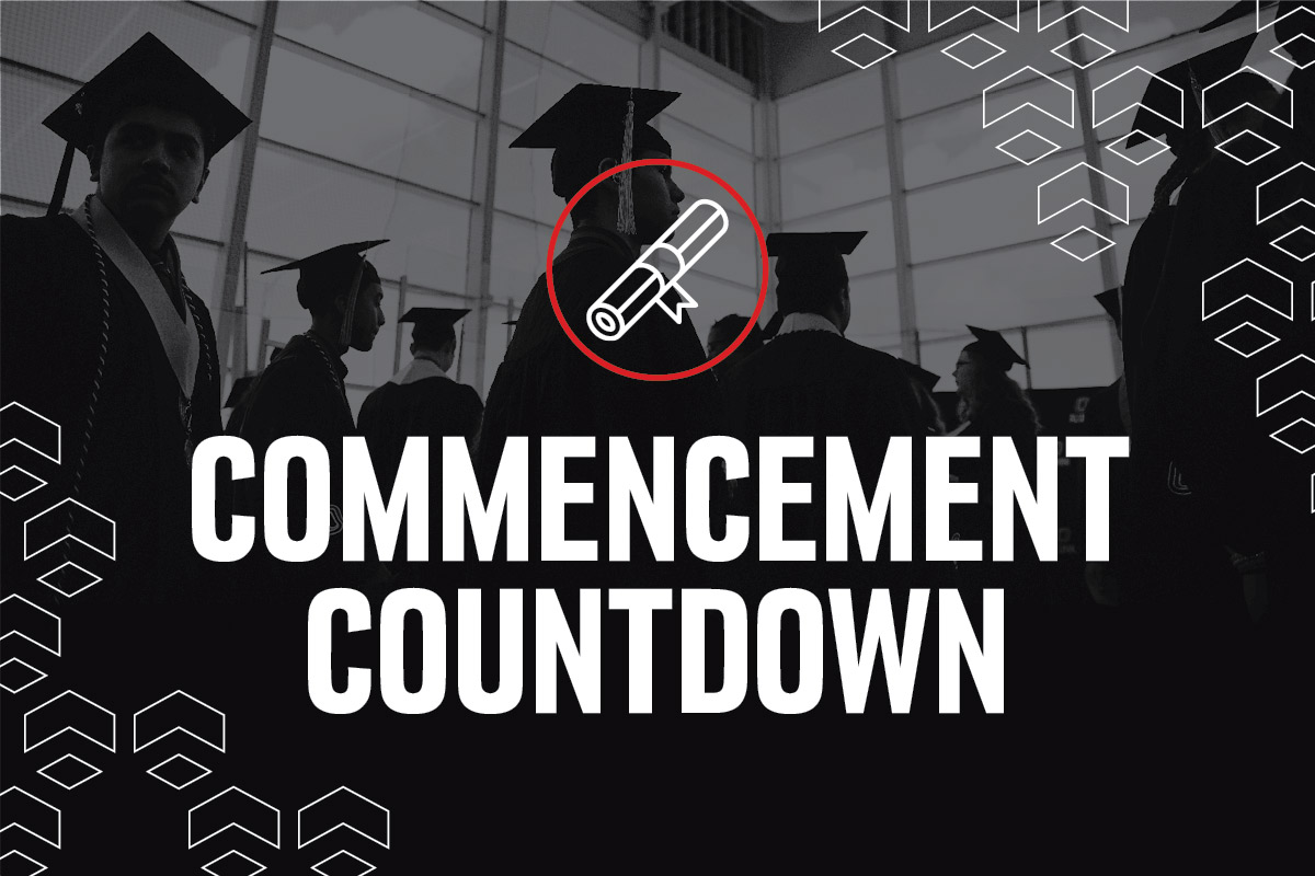 commencement countdown graphic