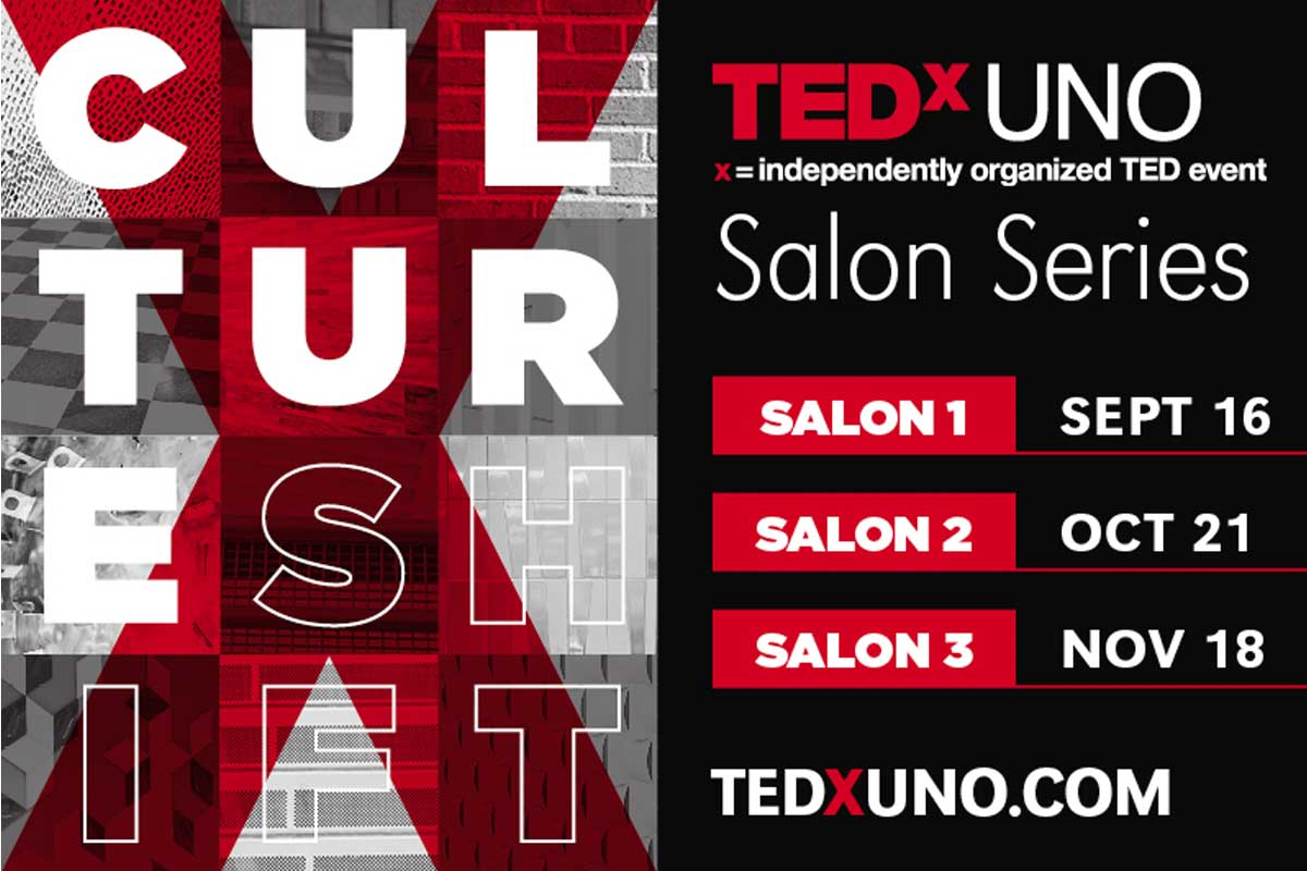 Tedxuno Salon Series Culture Shift News University Of Nebraska Omaha